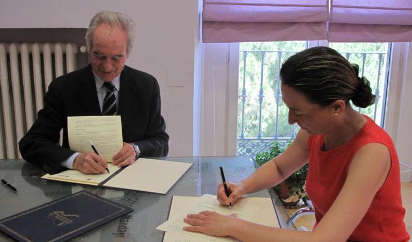 La Diputación colabora con CEOE-CEPYME para la promoción y el fomento del empresariado de la provincia