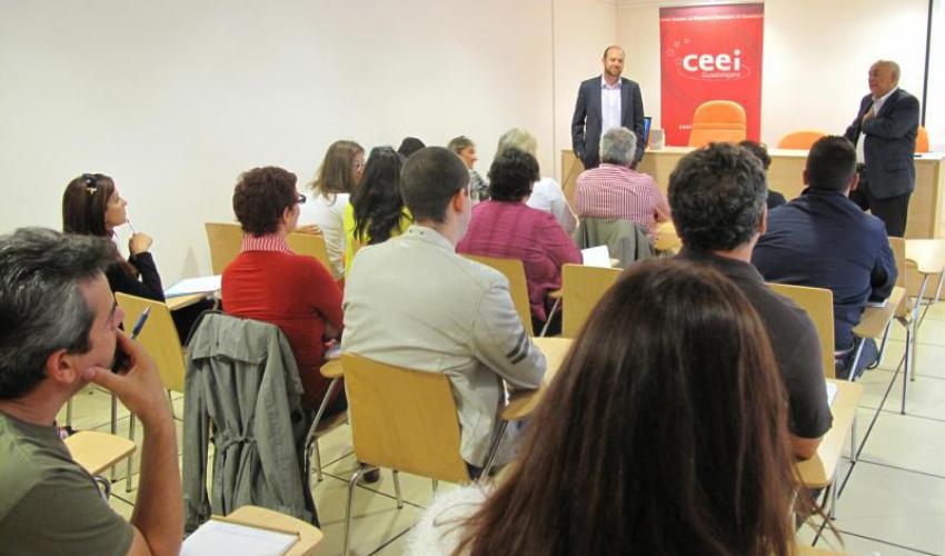 El CEEI de Guadalajara presenta en El Casar la Guía PYME 2.0
