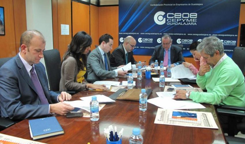 CEOE-CEPYME Guadalajara acoge la 10ª reunión del consejo de promoción exterior de CECAM