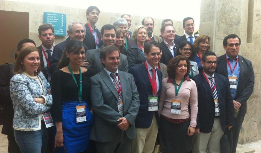 El CEEI de Guadalajara asiste a la firma del acuerdo de colaboración entre ANCES y ANPROTEC