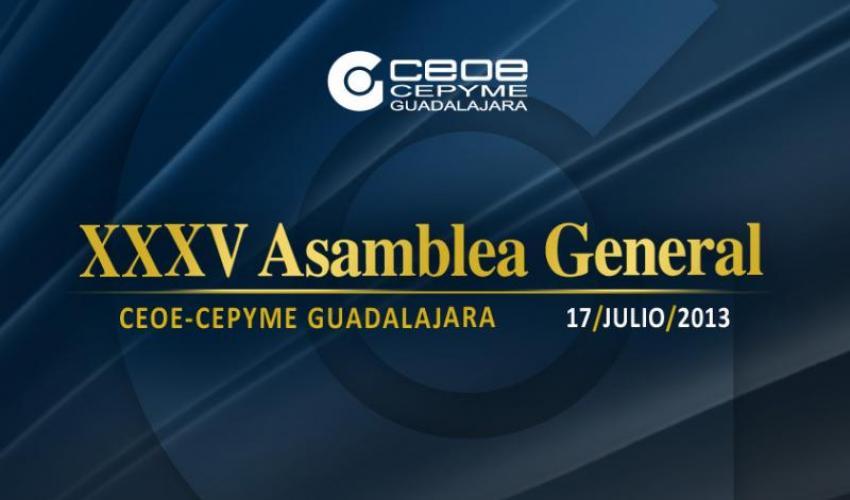 CEOE-CEPYME Guadalajara celebra su 35 Asamblea General el próximo 17 de julio