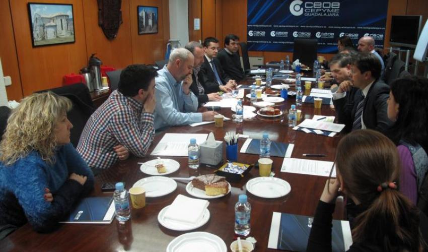 CEOE-CEPYME Guadalajara inicia un nuevo ciclo de desayunos de trabajo con los directores de recursos humanos de la provincia de Guadalajara