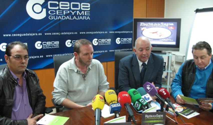 La Federación Provincial de Turismo de Guadalajara presenta la séptima edición de la Ruta de la Tapa