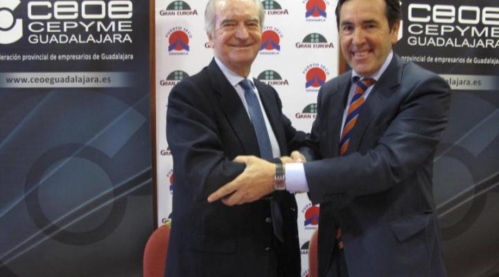CEOE-CEPYME Guadalajara y la Fundación Gran Europa suscriben un acuerdo marco de colaboración