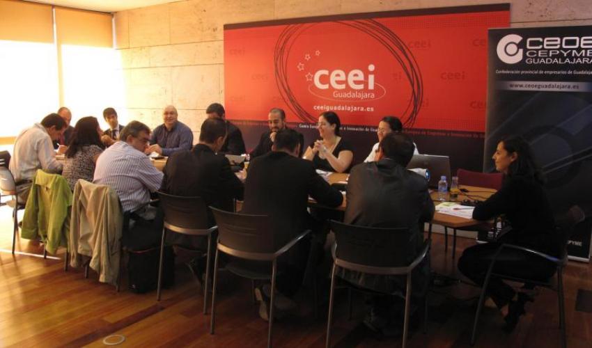 El CEEI de Guadalajara acoge la segunda reunión de GuadaNetWork