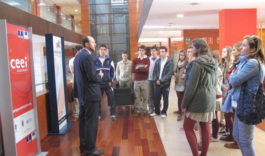 El CEEI de Guadalajara comienza un nuevo ciclo de talleres de emprendedurismo con los institutos de la provincia