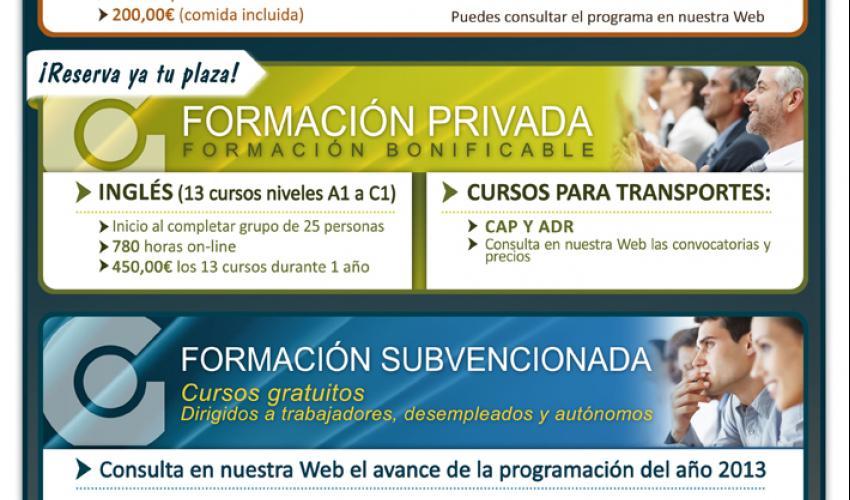 CEOE-CEPYME Guadalajara renueva su apartado de Formación en la Web
