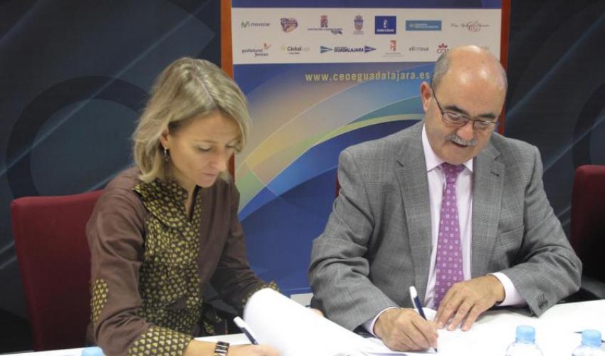 Gas Natural Castilla-La Mancha y CEOE-CEPYME Guadalajara  firman un nuevo convenio de colaboración
