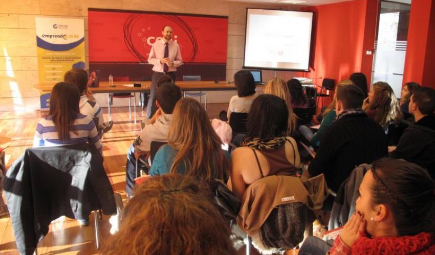 El CEEI de Guadalajara inicia el año con nuevos talleres para jóvenes