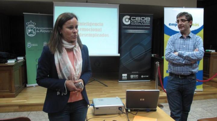 CEOE-CEPYME Guadalajara en colaboración con el ayuntamiento de Alovera, imparten un curso de coaching para desempleados