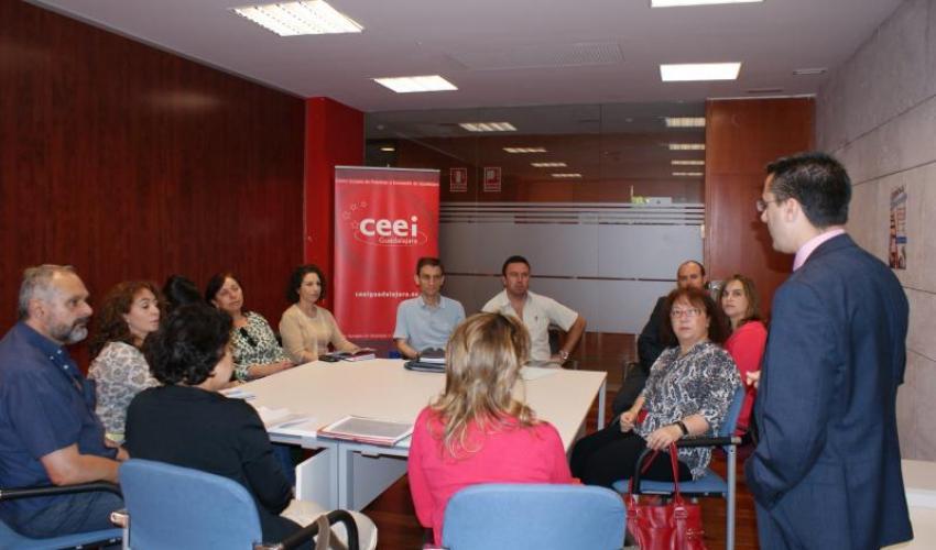 El CEEI de Guadalajara y la unidad de promoción y desarrollo de Guadalajara trabajarán conjuntamente por el emprendimiento