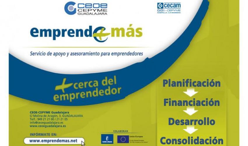 Cabanillas y Alovera acogerán dos nuevas jornadas del programa Emprende+más