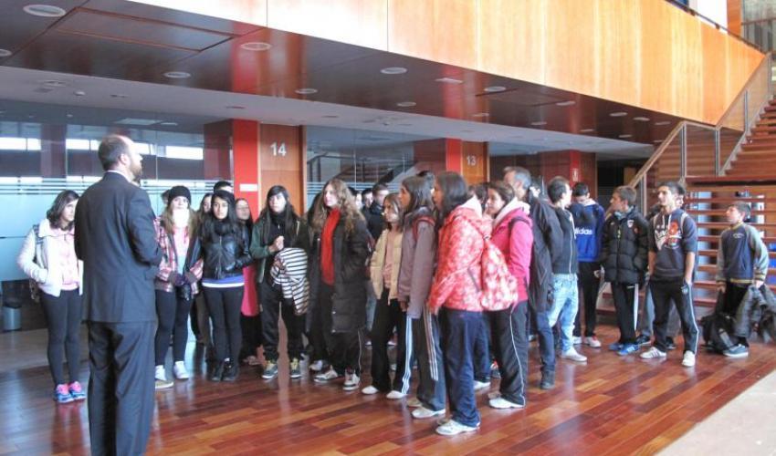 39 alumnos del IES Aguas Vivas visitan el CEEI de Guadalajara
