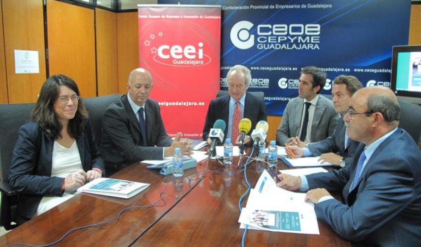 CEOE-CEPYME y el CEEI de Guadalajara presentan Guadanetwork