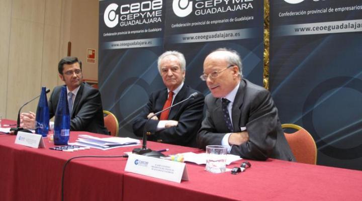 José Luis Feito habla de recuperación económica en el foro empresarial de CEOE-CEPYME Guadalajara