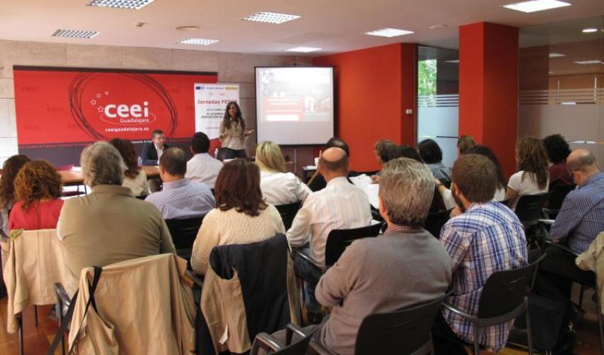Los emprendedores de Guadalajara aprender las posibilidades que ofrecen los Fondos FEDER