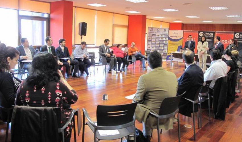 Una treintena de empresarios se reúne en una nueva edición de GuadaNetWork