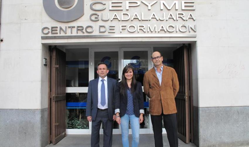 CEOE-CEPYME Guadalajara refuerza su departamento de Prevención de Riesgos Laborales con dos nuevos técnicos