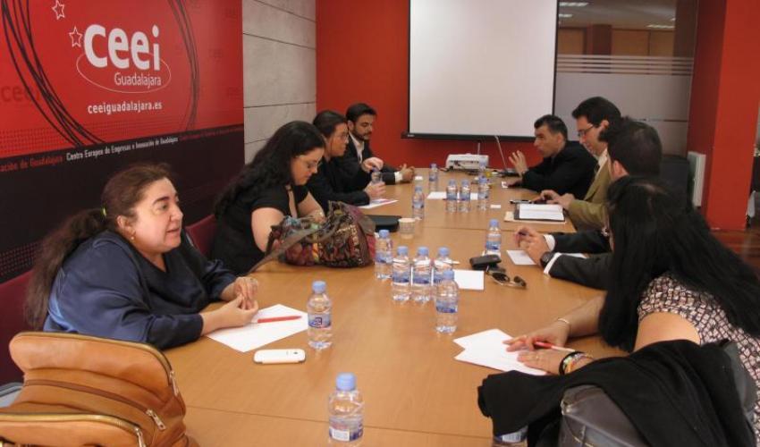 Continúan las reuniones de GuadaNetWork con nuevas empresas y sinergias