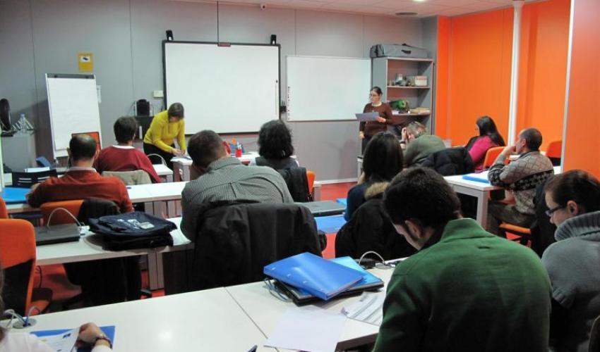 Se inician las clases del curso de inglés: gestión comercial de CEOE-CEPYME Guadalajara