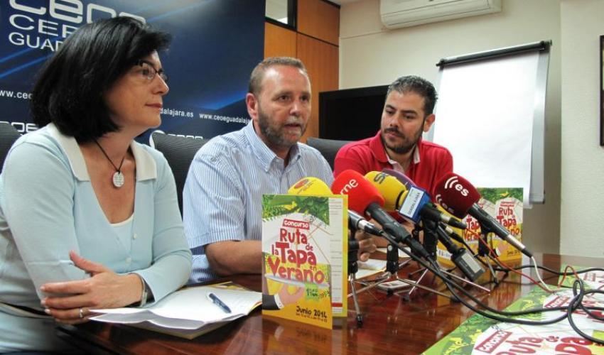 La Federación provincial de Turismo de Guadalajara presenta la novena edición de la ruta de la tapa