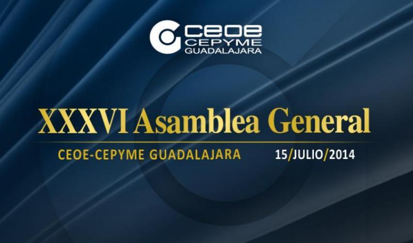 CEOE-CEPYME Guadalajara celebra su XXXVI Asamblea General el próximo martes 15 de julio