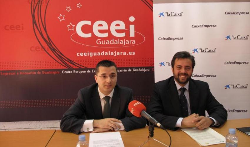 La Caixa presenta en el CEEI de Guadalajara la octava edición de los Premios EmprendedorXXI