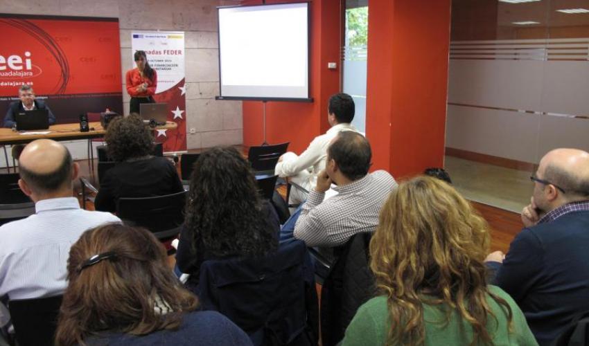 El CEEI de Guadalajara explica a los emprendedores las guías de financiación comunitarias
