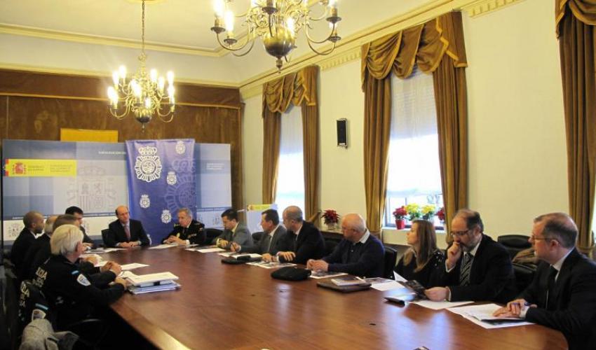 La Federación de Asociaciones de PYMES y Autónomos de Comercio de la provincia de Guadalajara, asiste a la reunión del plan de comercio seguro