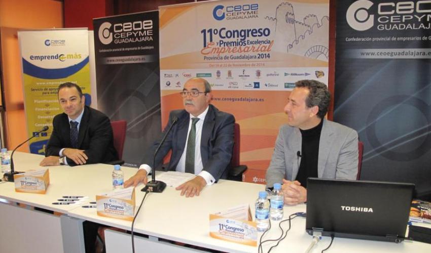 Cómo mejorar la satisfacción en el trabajo y en la vida, abre el 11º Congreso Empresarial de CEOE-CEPYME Guadalajara