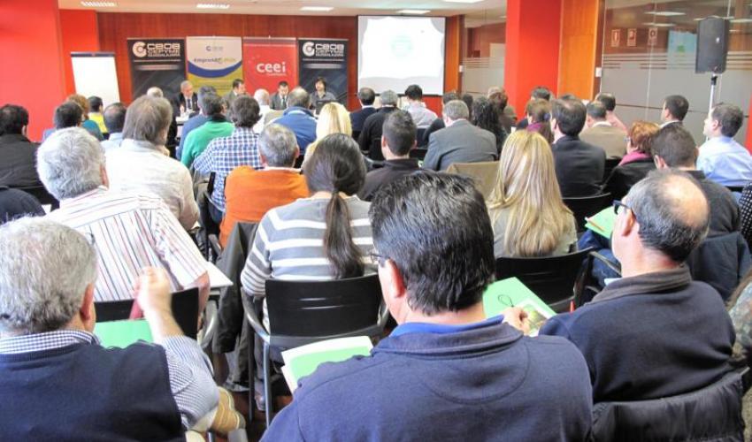 Gran éxito de asistencia en la jornada de facturación eléctrica organizada por CEOE-CEPYME Guadalajara
