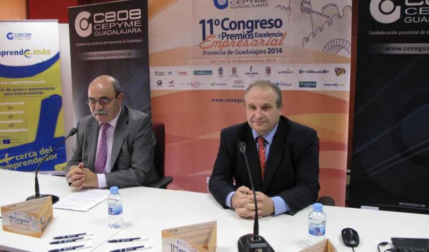 Daniel Martínez Batanero, con la conexión 24x7, cierra el 11º Congreso Empresarial de CEOE-CEPYME Guadalajara