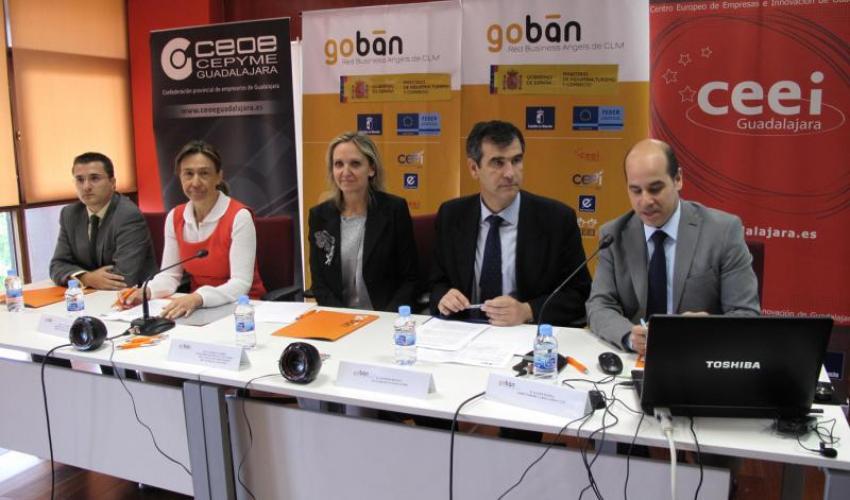 Los 7 emprendedores seleccionados han mostrado  sus proyectos a los Business Angels presentes en el xi foro regional de inversión Goban CLM