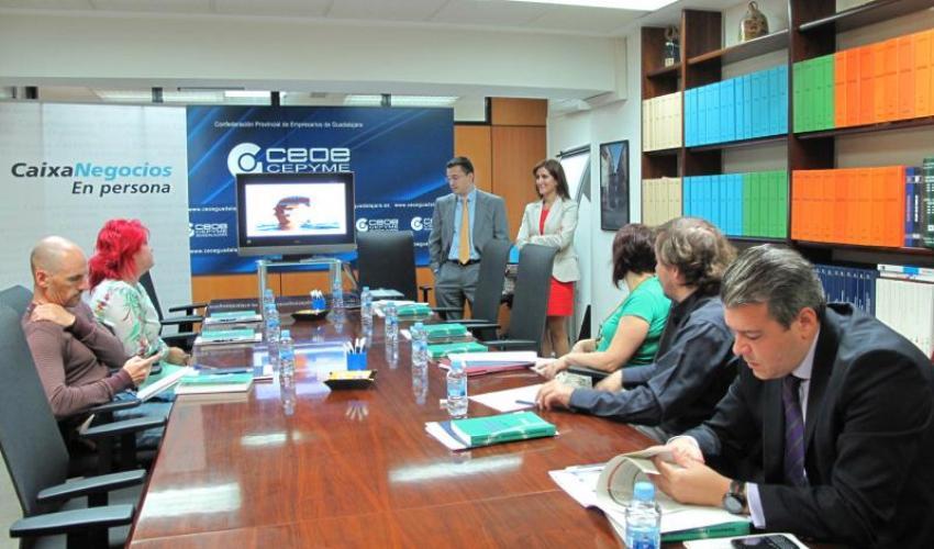 CEOE-CEPYME Guadalajara muestra a los empresarios la financiación internacional