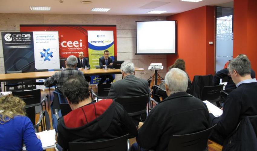 Cómo mantener el poder adquisitivo en la jubilación centra una nueva jornada informativa de CEOE-CEPYME Guadalajara