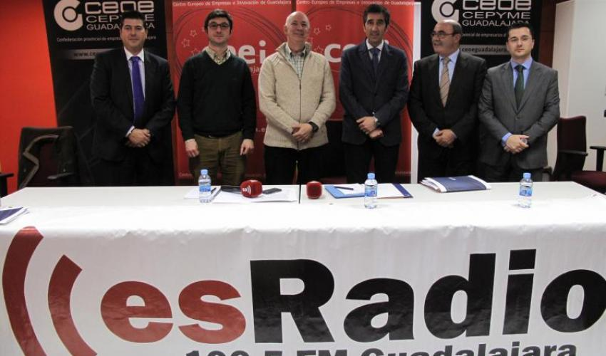 El CEEI de Guadalajara y Esradio promocionan el centro