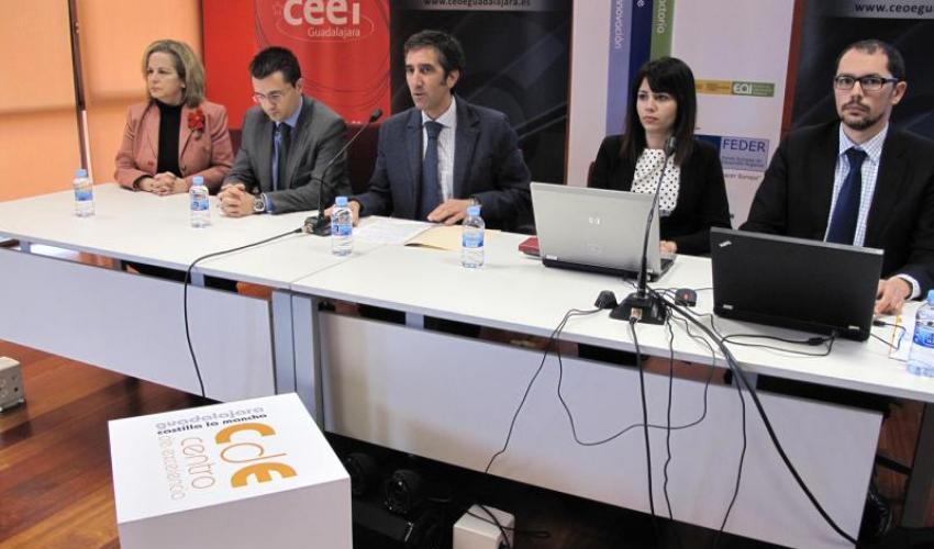El tejido empresarial de Guadalajara muestra su interés por el Centro de Excelencia de Logística