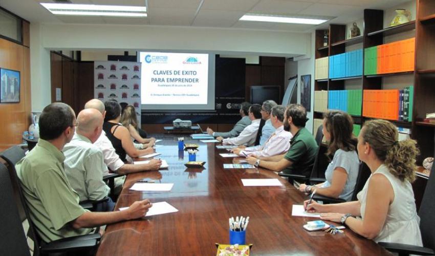 CEOE-CEPYME Guadalajara y la Fundación Gran Europa unen sus fuerzas en una jornada para emprendedores