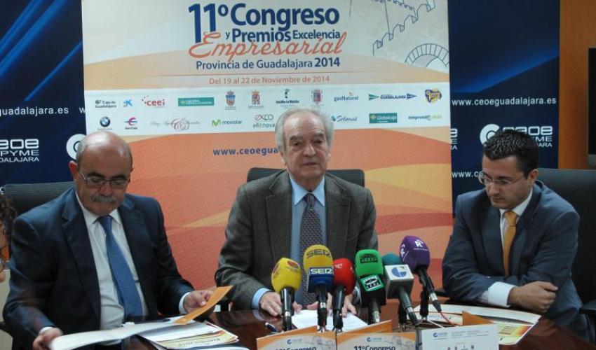 Agustín de Grandes presenta el 11º Congreso Empresarial y los Premios Excelencia Empresarial 2014