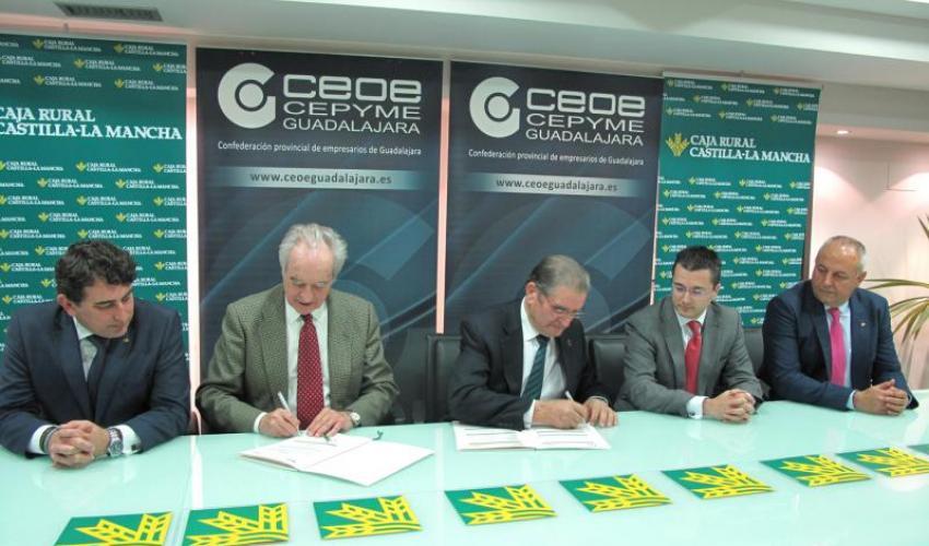 Caja Rural Castilla-La Mancha destina 30 millones para dar créditos a los empresarios alcarreños