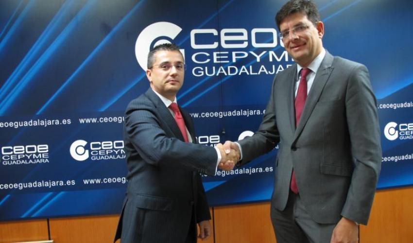 La UAH y CEOE-CEPYME Guadalajara firman un convenio para facilitar las prácticas laborales a los universitarios en empresas de la provincia de Guadalajara