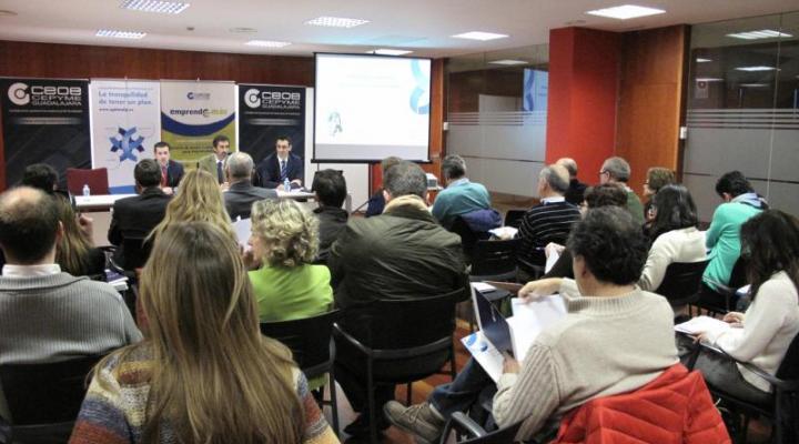 Gran éxito de convocatoria de la jornada basada en las donaciones vs herencia de CEOE-CEPYME Guadalajara