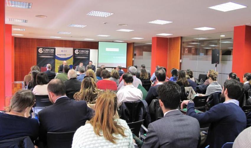 Gran éxito de participación en la jornada sobre la reforma tributaria organizada por CEOE-CEPYME Guadalajara