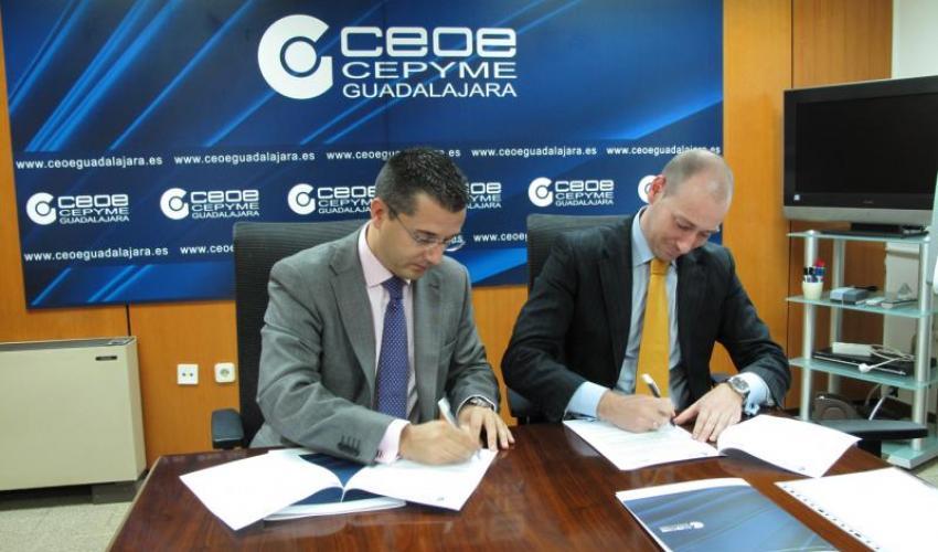 CEOE-CEPYME Guadalajara y Prodatos renuevan su convenio de colaboración