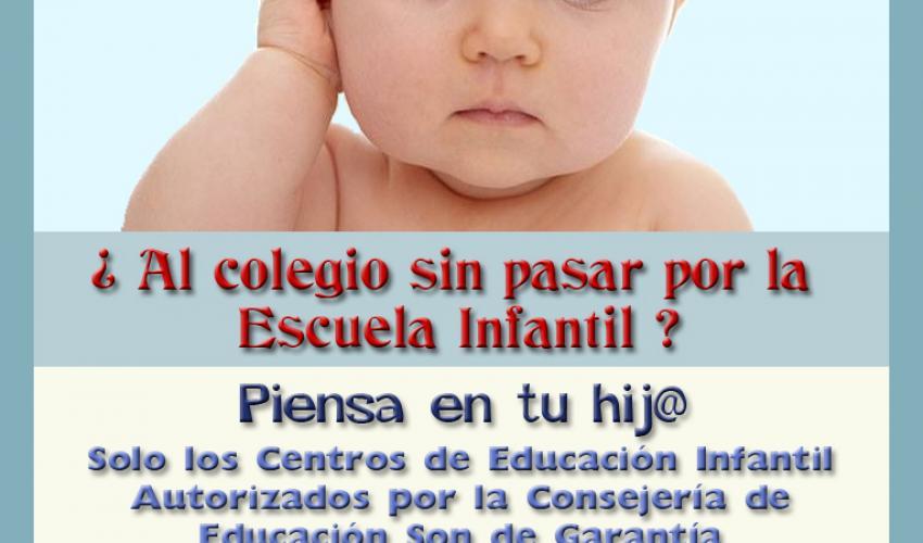 La Asociación de Empresarios de Centros Privados de Educación Infantil de la Provincia de Guadalajara lanza una campaña de concienciación
