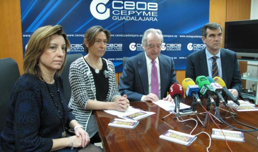 CEOE-CEPYME Guadalajara presenta la octava edición de la guía de empresas de socio a socio