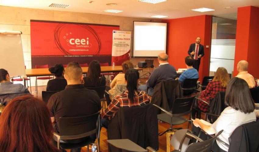 El CEEI de Guadalajara celebra una sesión informativa sobre los Fondos FEDER
