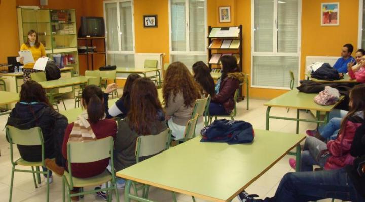 Los alumnos del colegio Santa Ana de Guadalajara y el IES Leandro Fernández de Moratín de Pastrana aprenden a ser empresarios