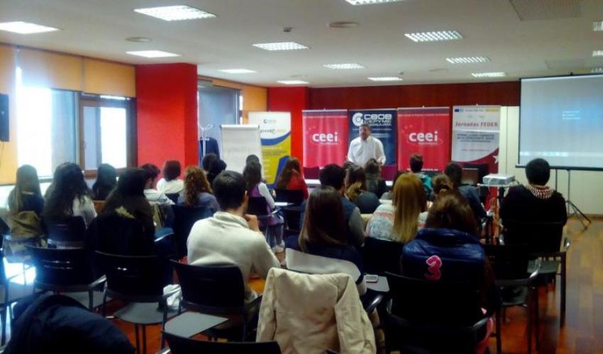 Alumnos del IES Brianda de Mendoza aprenden como competir en Europa