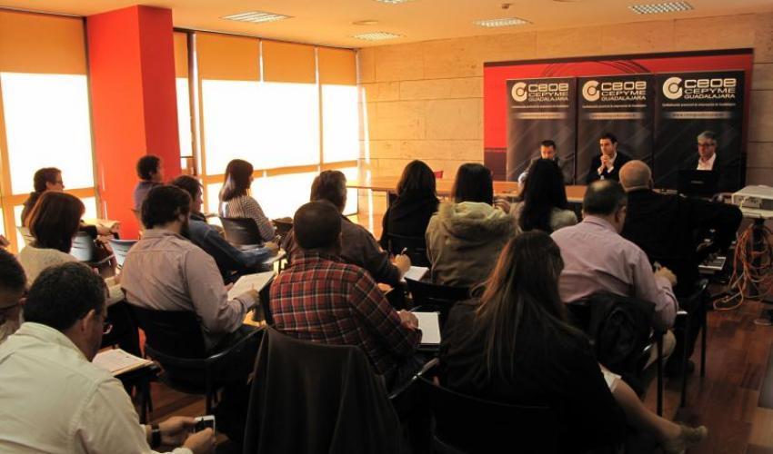 Las oportunidades que presenta Europa para las PYMES despierta el interés en los empresarios de la provincia de Guadalajara